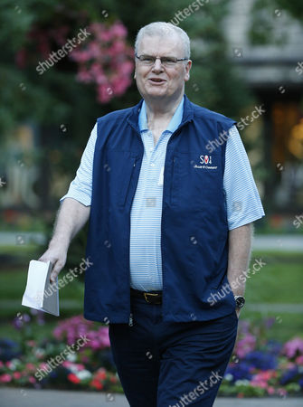 Welsh Businessman Sir Howard Stringer at the Allen and Company 32nd Annual Media and Technology Conference in Sun Valley Idaho Usa 10 July 2014 the Event Brings Together Some of the World's Leaders in Media Technology Sports Industry and Politics United States Sun Valley