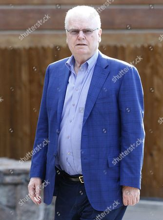 Welsh Businessman Sir Howard Stringer Arrives For the Allen and Company 32nd Annual Media and Technology Conference in Sun Valley Idaho Usa 08 July 2014 the Event Brings Together the Leaders of the World's of Media Technology Sports Industry and Politics United States Sun Valley
