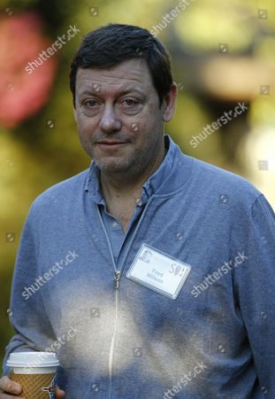 Fred Wilson Co-founder of Union Square Ventures at the Allen and Company 32nd Annual Media and Technology Conference in Sun Valley Idaho Usa 10 July 2014 the Event Brings Together the Leaders of the World's of Media Technology Sports Industry and Politics United States Sun Valley
