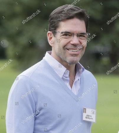 Director and Executive Vp of Grupo Televisa Alfonso De Angoitia Arrives For the Allen and Company 33rd Annual Media and Technology Conference in Sun Valley Idaho Usa 10 July 2015 the Event Brings Together the Leaders of the World's of Media Technology Sports Industry and Politics United States Sun Valley
