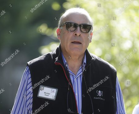 Ahmet Muhtar Kent Chairman and Chief Executive Officer of the Coca-cola Company During a Break at the Allen and Company 33rd Annual Media and Technology Conference in Sun Valley Idaho Usa 08 July 2015 the Event Brings Together the Leaders of the World's of Media Technology Sports Industry and Politics United States Sun Valley