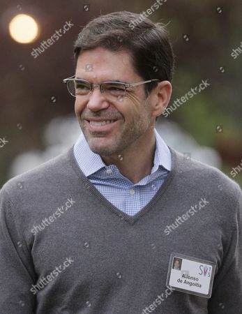 Stock Picture of Alfonso De Angoitia Executive Vice President of Grupo Televisa S a Arrives For Allen and Company 33rd Annual Media and Technology Conference in Sun Valley Idaho Usa 08 July 2015 the Event Brings Together the Leaders of the World's of Media Technology Sports Industry and Politics United States Sun Valley