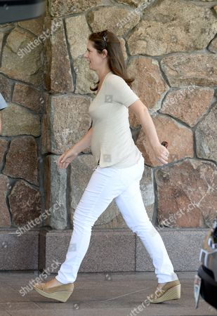 Us Journalist and News Anchor Erin Burnett Arrives For Allen and Company 31st Annual Media and Technology Conference in Sun Valley Idaho Usa 09 July 2013 the Event Which Opens on 10 July 2013 Brings Together the Leaders of the Worlds of Media Technology Sports Industry and Politics United States Sun Valley