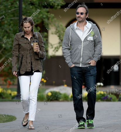 Us Entrepreneur Eric Lefkofsky (r) and His Wife Elizabeth Attend the Allen and Company 31st Annual Media and Technology Conference in Sun Valley Idaho Usa 10 July 2013 the Event Brings Together the Leaders of the Worlds of Media Technology Sports Industry and Politics United States Sun Valley