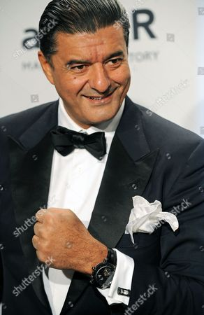 Bukharian-american Jeweler and Founder of Jacob & Company Jacob Arabo Attends the Amfar Gala at Cipriani's on Wall Street in New York New York Usa 05 February 2014 the Amfar was Created to End the Aids Epidemic and Has Raised More Than 15 Million Us Dollar For Essential Aids Research Hiv Prevention and Education United States New York