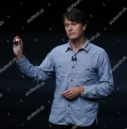 Niantic Founder and Ceo John Hanke Speaks About Pokemon Go on the New Apple Watch During the Apple Launch Event at the Bill Graham Civic Auditorium in San Francisco California Usa 07 September 2016 Media Reports Indicate an Expected Launch of Several New Products Including a New Iphone New Apple Watch and New Operating Systems United States San Francisco