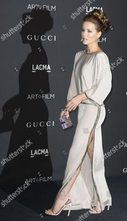 British Actress Kate Beckinsale Arrives For the 2014 Lacma Art + Film Gala at the Los Angeles County Museum of Art (lacma) in Los Angeles California Usa 01 November 2014 the Event Honored Us Artist Barbara Kruger and Us Director Quentin Tarantino United States Los Angeles