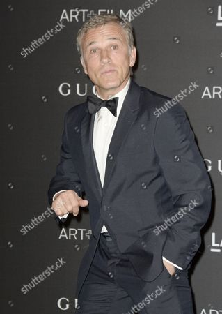 German-austrian Actor Christoph Waltz Arrives For the 2014 Lacma Art + Film Gala at the Los Angeles County Museum of Art in Los Angeles California Usa 01 November 2014 the Event Honored Us Artist Barbara Kruger and Us Director Quentin Tarantino United States Los Angeles