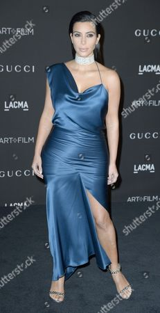 Us Celebrity Personality Kim Kardashian West Arrives For the 2014 Lacma Art + Film Gala at the Los Angeles County Museum of Art (lacma) in Los Angeles California Usa 01 November 2014 the Event Honored Us Artist Barbara Kruger and Us Director Quentin Tarantino United States Los Angeles