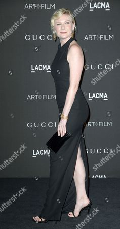 Us Actress Kirsten Dunst Arrives For the 2014 Lacma Art + Film Gala at the Los Angeles County Museum of Art (lacma) in Los Angeles California Usa 01 November 2014 the Event Honored Us Artist Barbara Kruger and Us Director Quentin Tarantino United States Los Angeles
