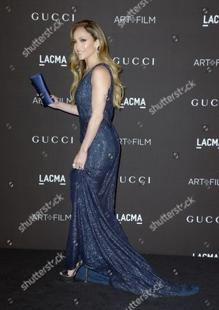 Us Actress and Singer Jennifer Lopez Arrives For the 2014 Lacma Art + Film Gala at the Los Angeles County Museum of Art (lacma) in Los Angeles California Usa 01 November 2014 the Event Honored Us Artist Barbara Kruger and Us Director Quentin Tarantino United States Los Angeles