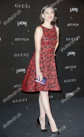 Italian Actress Jennifer Missoni Arrives For the 2014 Lacma Art + Film Gala at the Los Angeles County Museum of Art (lacma) in Los Angeles California Usa 01 November 2014 the Event Honored Us Artist Barbara Kruger and Us Director Quentin Tarantino United States Los Angeles