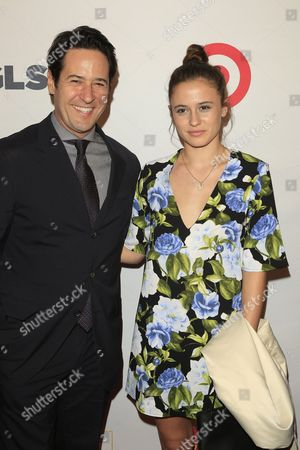 Us Actor Rob Morrow Arrives with His Daughter Tu Morrow For the Glsen Respect Awards at the Beverly Wilshire Hotel in Beverly Hills California Usa 21 October 2016 the Glsen Respect Awards Are Honoring Leaders in the Fight Against Bullying and Discrimination in Schools United States Los Angeles