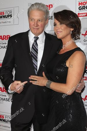 Us Actor Bruce Boxleitner and His Fiance Verena King Show Off Her Engagement Ring As They Arrive For the Aarp's 15th Annual Movies For Grownups Awards at the Beverly Wilshire Four Seasons Hotel in Beverly Hills California Usa 08 February 2016 United States Beverly Hills