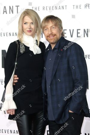 Stock Photo of Norwegian Director Morten Tyldum (r) and His Wife Janne Tyldum Arrive For the Premiere of 'The Revenant' at Tcl Chinese Theatre Imax in Los Angeles California Usa 16 December 2015 the Movie Opens in Select Theaters in the Us on 25 December 2015 United States Los Angeles