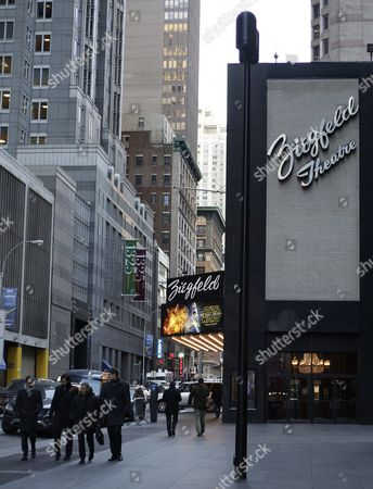 A General View of the Ziegfeld Theater in New York New York Usa 21 January 2016 the Ziegfeld Theater in Midtown Manhattan Will Close Its Doors in the Coming Weeks and Reopen Next Year As an Event Space That Caters to Galas and Corporate Functions According to James L Dolan the Chief Executive of Cablevision the Theater Which Opened in 1969 is Manhattan's Last Remaining Large Single-screen Showplace Used Exclusively For Movies with 1 300 Seats (there is Only One Remaining Single-screen Movie Venue Left in the Borough the Paris Theater at 571 Seats) United States New York