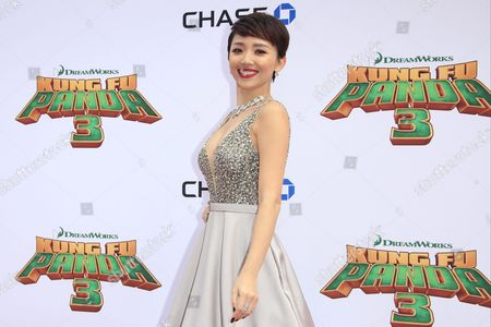 Vietnamese Actress/cast Member Toc Tien Arrives For the Kung Fu Panda 3 World Premiere at the Tcl Chinese Theatre Imax in Hollywood Los Angeles California Usa 16 January 2016 the Movie Will Be Released in the Us Theaters on 29 January United States Los Angeles