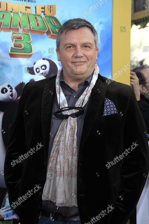 Stock Photo of German Actor/cast Member Hape Kerkeling Arrives For the Kung Fu Panda 3 World Premiere at the Tcl Chinese Theatre Imax in Hollywood Los Angeles California Usa 16 January 2016 the Movie Will Be Released in Us Theaters on 29 January United States Los Angeles
