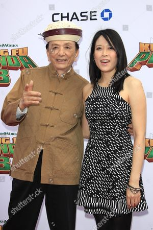 Us Actor/cast Member James Hong and His Daughter Us Actress/cast Member April Hong Arrive For the Kung Fu Panda 3 World Premiere at the Tcl Chinese Theatre Imax in Hollywood Los Angeles California Usa 16 January 2016 the Movie Will Be Released in Us Theaters on 29 January United States Los Angeles