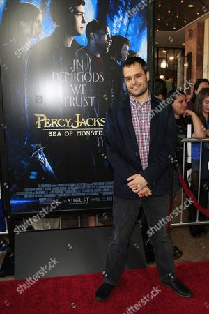 German Director Thor Freudenthal Arrives For a Special Screening of 'Percy Jackson: Sea of Monsters' at the Pacific Theaters in Glendale California Usa 31 July 2013 United States Hollywood