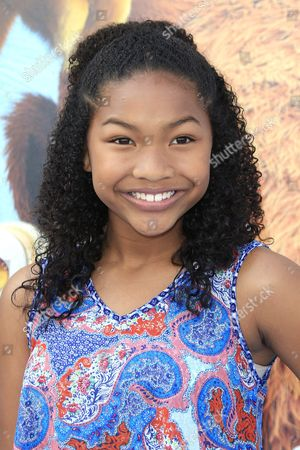 Us Actress Laya Deleon Hayes Arrives For the Friends and Family Screening of Ice Age: Collision Course at the 20th Century Fox Lot in Los Angeles California Usa 16 July 2016 the Movie Opens in the Us Theaters on 22 July United States Los Angeles