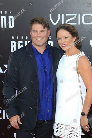 Producer Rod Roddenberry (l) Arrives with His Wife Heidi For the World Premiere of Star Trek Beyond at Embarcadero Marina Park South in San Diego California Usa 20 July 2016 the Movie Will Be Premiere in Us Theaters on 22 July United States San Diego