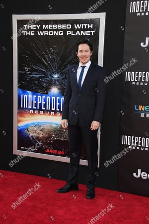 British Actor/cast Member Ryan Cartwright Arrives at the Premiere of Independence Day: Resurgence Held at the Tcl Chinese Theatre Imax in Hollywood California Usa 20 June 2016 the Movie Will Be Released in Us Theaters on 24 June United States Los Angeles