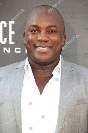 Us Actor/cast Member Deobia Oparei Arrives at the Premiere of Independence Day: Resurgence Held at the Tcl Chinese Theatre Imax in Hollywood California Usa 20 June 2016 the Movie Will Be Released in Us Theaters on 24 June United States Los Angeles