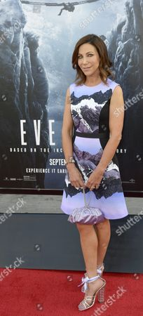 Stock Photo of Us Author and Team Captain of the First Us Women's Mount Everest Expedition Alison Levine Arrives For the Premiere of 'Everest' at the Tcl Chinese Theatre in Hollywood California Usa 09 September 2015 the Movie Opens in Us Theaters on 25 September 2015 United States Hollywood