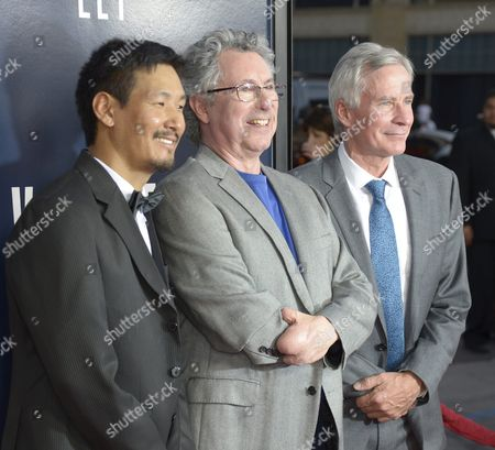 Stock Picture of Us Pathologist Beck Weathers (c) who Survived a Mount Everest Expedition Mount Everest Guide Ang Phula Sherpa (l) and Us Mountaineer and Filmmaker David Breashears (r) Arrive For the Premiere of 'Everest' at the Tcl Chinese Theatre in Hollywood California Usa 09 September 2015 the Movie Opens in Us Theaters on 25 September 2015 United States Hollywood