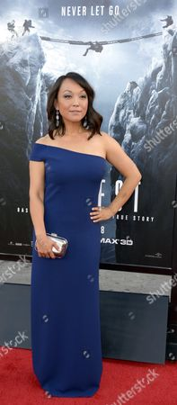Japanese Actress and Cast Member Naoko Mori Arrives For the Premiere of 'Everest' at the Tcl Chinese Theatre in Hollywood California Usa 09 September 2015 the Movie Opens in Us Theaters on 25 September 2015 United States Hollywood