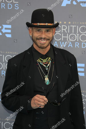Us Actor Raoul Trujillo Arrives For the 21st Critics' Choice Awards in Hollywood California Usa 17 January 2016 United States Hollywood
