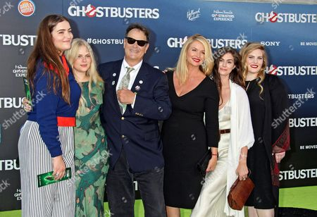 Us Actor/producer Dan Aykroyd (3-l) Donna Dixon (3-r) and Family Arrive For the Premiere of the Film 'Ghostbusters' at the Tcl Chinese Theatre Imax Laser in Hollywood California Usa 09 July 2016 United States Los Angeles