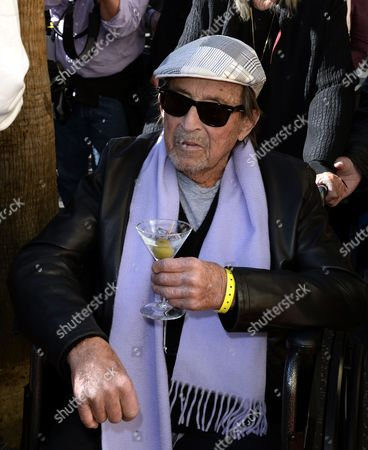 Us Actor/director Paul Mazursky Arrives with a Martini in His Hand For His Star Ceremony on the Hollywood Walk of Fame in Hollywood California Usa 13 December 2013 It is the 2 515th Star on Hollywood Boulevard United States Hollywood
