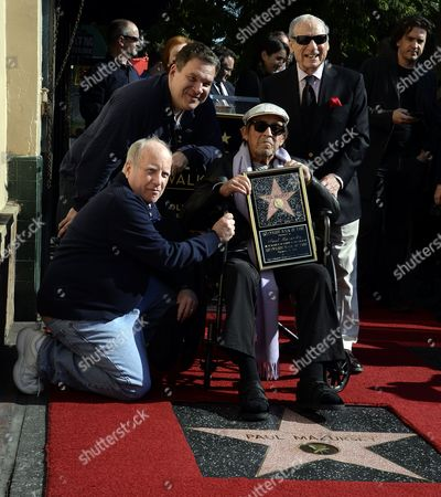 Editorial picture of Usa Cinema Hollywood Walk Paul Mazursky - Dec 2013