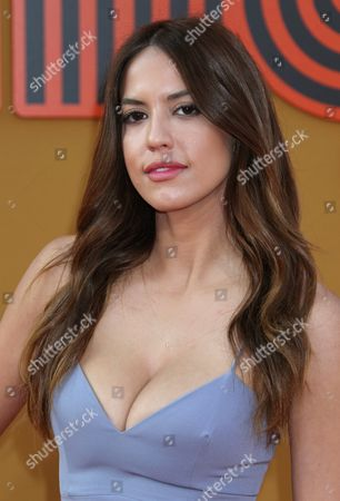 Stock Picture of Us Actress and Cast Member Murielle Telio Arrives For the Warner Brothers Premiere of 'The Nice Guys' at the Tcl Chinese Theatre in Hollywood California Usa 10 May 2016 the Movie Will Be Shown in Us Theaters on 20 May 2016 United States Hollywood