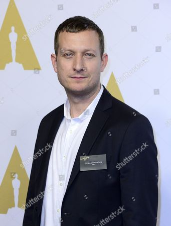 Danish Director Tobias Lindholm Arrives For the Oscar Nominees Luncheon at the Beverly Hilton Hotel in Beverly Hills California Usa 08 February 2016 His Film 'A War' is Nominated For Best Foreign Language Film United States Beverly Hills