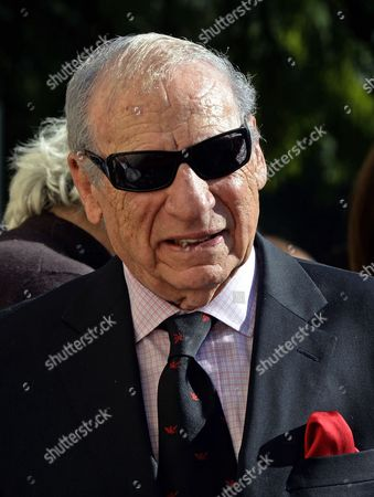 Us Director Mel Brooks Participates in a Ceremony Honoring Us Actor/director Paul Mazursky with a Star on the Hollywood Walk of Fame in Hollywood California Usa 13 December 2013 United States Hollywood