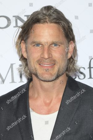 British Actor Noah Huntley Arrives For the World Premiere of Columbia Pictures' 'Miracles From Heaven' at the Arclight Hollywood in Hollywood Los Angeles California Usa 09 March 2016 the Movie Opens in the Us Theatres on 16 March 2016 United States Los Angeles