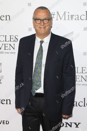 Italian Composer Carlo Siliotto Arrives For the World Premiere of 'Miracles From Heaven' at the Arclight Hollywood in Hollywood Los Angeles California Usa 09 March 2016 the Movie Opens in the Us Theatres on 16 March 2016 United States Los Angeles