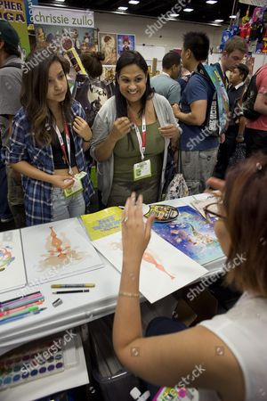 Editorial image of Usa Comic Con 2015 - Jul 2015