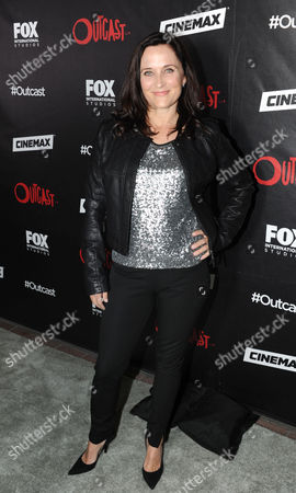 Us Actress Courtenay Taylor Attends a Red Carpet Photocall For the Fox International Studio Comic Con Party to Celebrate Robert Kirkman's New Drama Outcast in San Diego California Usa 09 July 2015 United States San Diego