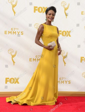 Sufe Bradshaw Arrives For the 67th Annual Primetime Emmy Awards Held at the Microsoft Theater in Los Angeles California Usa 20 September 2015 the Primetime Emmy Awards Celebrate Excellence in National Primetime Television Programming United States Los Angeles