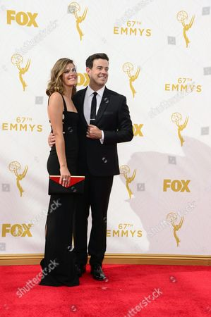 Siri Pinter (l) and Carson Daly Arrive For the 67th Annual Primetime Emmy Awards Held at the Microsoft Theater in Los Angeles California Usa 20 September 2015 the Primetime Emmy Awards Celebrate Excellence in National Primetime Television Programming United States Los Angeles