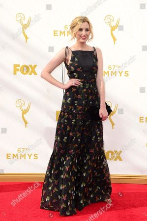 Stephanie Drake Arrives For the 67th Annual Primetime Emmy Awards Held at the Microsoft Theater in Los Angeles California Usa 20 September 2015 the Primetime Emmy Awards Celebrate Excellence in National Primetime Television Programming United States Los Angeles