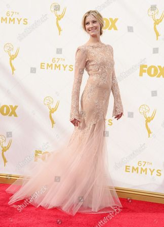 Caitlin Gerard Arrives For the 67th Annual Primetime Emmy Awards Held at the Microsoft Theater in Los Angeles California Usa 20 September 2015 the Primetime Emmy Awards Celebrate Excellence in National Primetime Television Programming United States Los Angeles