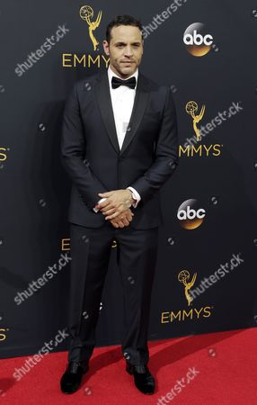 Daniel Sunjata Arrives For the 68th Annual Primetime Emmy Awards Ceremony Held at the Microsoft Theater in Los Angeles California Usa 18 September 2016 the Primetime Emmy Awards Celebrate Excellence in National Primetime Television Programming United States Los Angeles