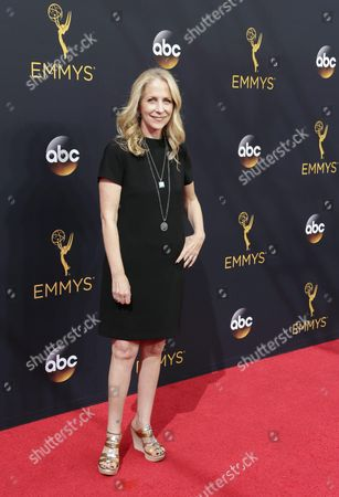 Stock Photo of Carrie Aizley Arrives For the 68th Annual Primetime Emmy Awards Ceremony Held at the Microsoft Theater in Los Angeles California Usa 18 September 2016 the Primetime Emmy Awards Celebrate Excellence in National Primetime Television Programming United States Los Angeles