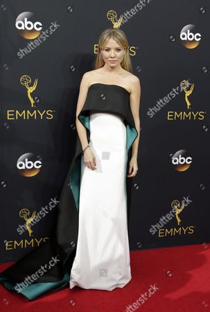 Kaitlin Doubleday Arrives For the 68th Annual Primetime Emmy Awards Ceremony Held at the Microsoft Theater in Los Angeles California Usa 18 September 2016 the Primetime Emmy Awards Celebrate Excellence in National Primetime Television Programming United States Los Angeles