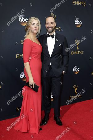 Martel Thompson (l) and Tony Hale Arrive For the 68th Annual Primetime Emmy Awards Ceremony Held at the Microsoft Theater in Los Angeles California Usa 18 September 2016 the Primetime Emmy Awards Celebrate Excellence in National Primetime Television Programming United States Los Angeles